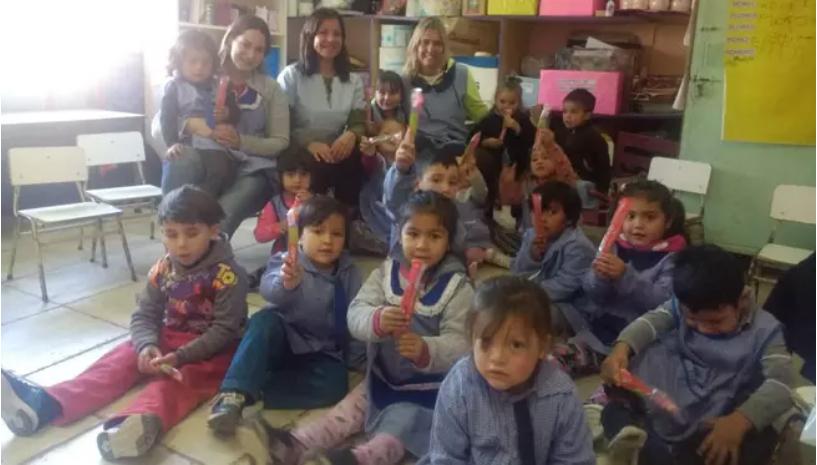 FOPBA visitó la Escuela Rural de Salto